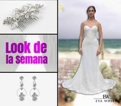 Look de la semana.  #bridal #bridaldress #dress #weedingstyle #vestidosdenovia #novias #bogotá #love #amor