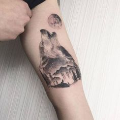 Wolf Tattoo by Octobersky Ta2.