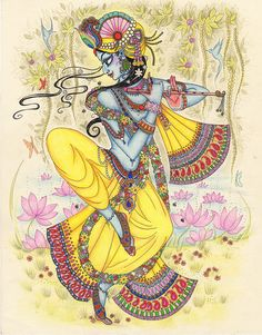 "Canvas Painting R/canvases – NAME: ""Krishna"" painting Krishna Drawing, Krishna Painting, Krishna Art, Krishna Images, Radhe Krishna, Lord Krishna, Krishna Pictures, Krishna Leela, Shiva Art"