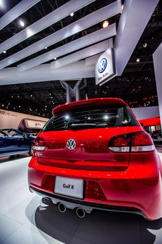 VW Golf R...only every four years...WOW