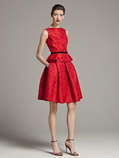 bright bridesmaids - #CHCarolinaHerrera ruby red #inspiredbride