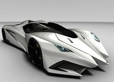 Lamborghini's Ferruccio 2012 concept car - I think Batman would approve (in black, of course)