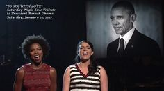"""'SNL' honored former president Barack Obama with a touching rendition of """"To Sir, With Love"""" performed by Cecily Strong and Sasheer Zamata. Keanu Reeves New Movie, Keanu Reeves News, Black Presidents, Greatest Presidents, Presidente Obama, Losing My Best Friend, Saturday Night Live, Former President, Michelle Obama"""