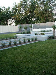 Front garden design Tookoo Landscape design in Adelaide South