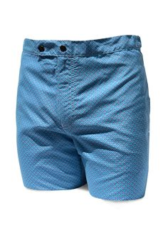 703df23fb16 Bañador Slim Fit Geométricos Azul Best Swimwear