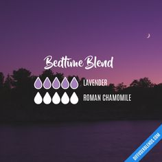 Bedtime Blend - Essential Oil Diffuser Blend by lenora Essential Oils For Sleep, Essential Oil Uses, Doterra Essential Oils, Doterra Blends, Oils For Energy, Cedarwood Oil, Chamomile Essential Oil, Essential Oil Diffuser Blends, Aromatherapy Oils