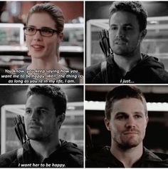 Arrow - Felicity & Oliver #Season3 #Olicity ♥♥♥