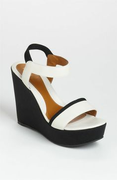 Fendi Ankle Strap Wedge Sandal available at #Nordstrom