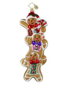 Image detail for -Christopher Radko Christopher Radko Three Times As Sweet Ornament