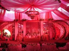 indian-wedding-decoration-    the PINK magic..