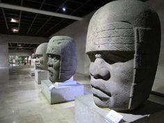Museo de Antropología de Xalapa- sala Olmeca