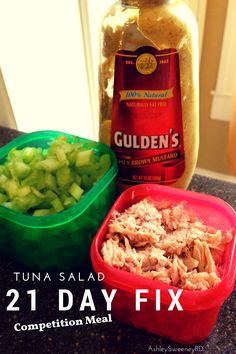 21 Day Fix Extreme Tuna Salad Recipe