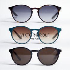 VIKTOR&ROLF ヴィクター&ロルフ ボストンサングラス グラデーション 71-0098