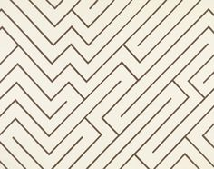 Anni Albers, Maze, 1979 printed cotton 59 × in. Anni Albers, Josef Albers, Textures Patterns, Print Patterns, Bauhaus Textiles, Hard Edge Painting, Wassily Kandinsky, Textile Artists, Maze