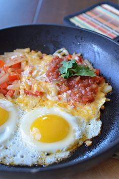 Mexican Egg Skillet by Seeded at the Table, via Flickr