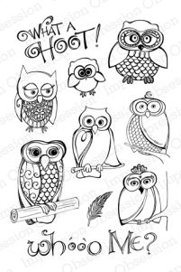 What A Hoot stamp set from Impression Obsession