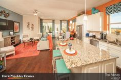 Exciting colors in the Abney model in Houston, TX