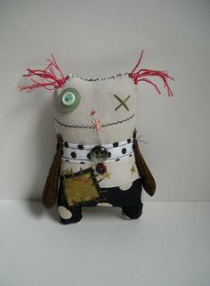 An ugly doll no she is cute! More