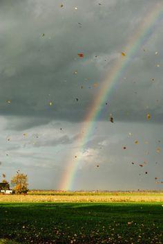 Herbstwetter in Norddeutschland