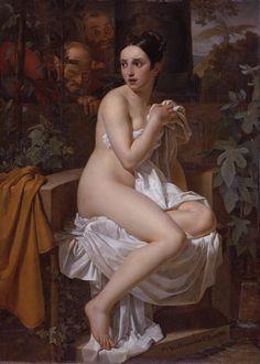 Pierre Van Hanselaere (1786 - 1862) - Susanna and the Elders - 1820