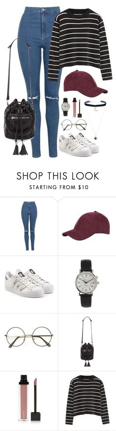 """Haunted house date with Jongup"" by berrie95 on Polyvore featuring Topshop, adidas Originals, Geneva, Forever 21, Jouer, Chicnova Fashion, bap, Jongup and kpopoutfits"