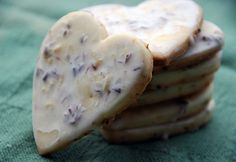 Iced Lavendar Lemon Cookies by kimberley blue, via Flickr
