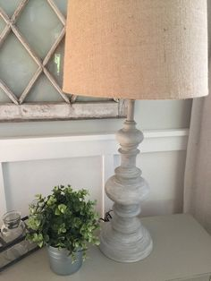 DIY Restoration Hardware Inspired Lamp Makeover How to Turn a Brass Lamp into Designer Decor www.