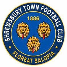 Shrewsbury Town F., League One, Shrewsbury, Shropshire, England Football Score, Football Team Logos, Arsenal Football, British Football, English Football League, Shrewsbury Town, Shrewsbury Shropshire, Shrewsbury England, Sport