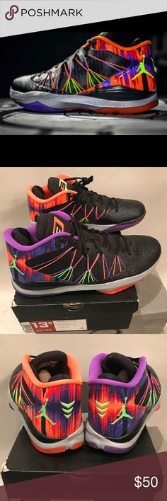 "detailed look aba5f 253ff Jordan CP3. Vll ""Jekyll and Hyde"" Sz 13"