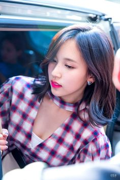 Mina Getting Out Of The Van #8