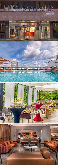 Overnachten in het mooie Rome doe je in luxe bij het viersterren H10 Roma Citta. Dit hotel combineert moderne details met de traditionele Italiaanse stijl. Boek nu en geniet van een heerlijke en welverdiende vakantie!