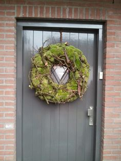 now thats what im talking about!now thats what im talking about!Halloween Crow WreathYour front door invites friends and family in during this most cozy time of year. Valentine Day Wreaths, Xmas Wreaths, Easter Wreaths, Wreaths For Front Door, Door Wreaths, Forsythia Wreath, Moss Wreath, Christmas Greenery, Christmas Decorations