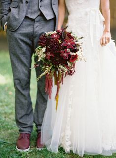 Rustic bouquet: http://www.stylemepretty.com/2013/05/23/vermont-wedding-from-jose-villa/ | Photography: Jose Villa - http://josevilla.com/