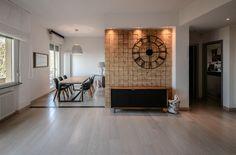 Creazione Mosaico in Legno e Restyling Appartamento 5A - Soggiorno e Sala pranzo www.indastriacoolhidea.com
