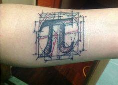 Tatuagem para apaixonados por ciência.