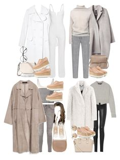 """""""Inspired with requested shoes"""" by nikka-phillips ❤ liked on Polyvore featuring Michael Kors, Zero + Maria Cornejo, rag & bone, Chloé, STELLA McCARTNEY, Rick Owens, Forever 21, Current/Elliott, Helmut Lang and Zara"""