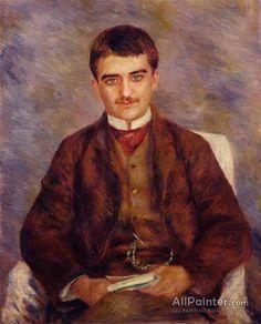 Pierre Auguste Renoir Joseph Durand-ruel oil painting reproductions for sale