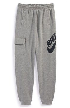 Nike 'SB Everett' French Terry Sweatpants (Big Boys) available at #Nordstrom