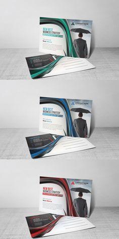 Brand Purpose, Postcard Template, Curve Design, Stationery Templates, Branding, Marketing, Brand Management, Identity Branding
