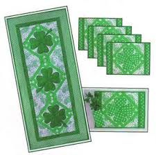 St Patty's Day placemat design