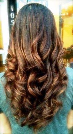 cabelos com mechas - Pesquisa Google
