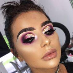 10 Night Out Makeup Ideas That Men Find Irresistible Glam Makeup, Kiss Makeup, Flawless Makeup, Cute Makeup, Makeup Inspo, Beauty Makeup, Hair Makeup, Hair Beauty, Makeup Eye Looks