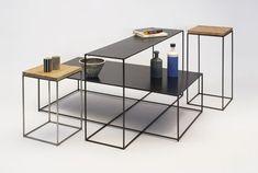 Table basse Slim Irony / 41 x 41 x H 46 cm