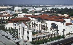"""The """"new"""" City Hall, Culver City, CA, built on the site of the old City Hall and Jail.  One of the loveliest City Halls I've ever seen. (DRM)"""