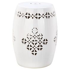 "Safavieh Quatrefoil Garden Stool I & Reviews | Wayfair.  18"" H x 14"" W x 14"" D"