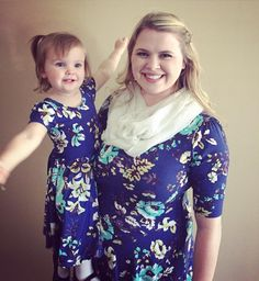 Lularoe Amber Marie- VIP Boutique: Nicole & Dot Dot Smile Dress Mommy & Me set