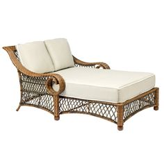 Have to have it. Woodard Belmar All Weather Wicker Daybed - $2191.99 @hayneedle