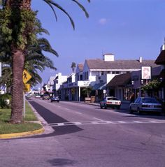 Florida Memory - View looking east along W. Venice Ave. in Venice, Florida.