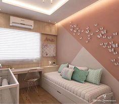 60 Best Geometric Wall Art Paint Design Ideas is part of Dream rooms - 33 Best Geometric Wall Art Paint Design Ideas Bedroom Wall Designs, Diy Bedroom Decor, Bedroom Ideas, Wall Decor, Design Bedroom, Bed Design, Girl Room, Girls Bedroom, Bedrooms