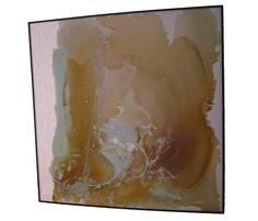 HUGE Mid-Century Modern, Abstract Oil Painting | eBay